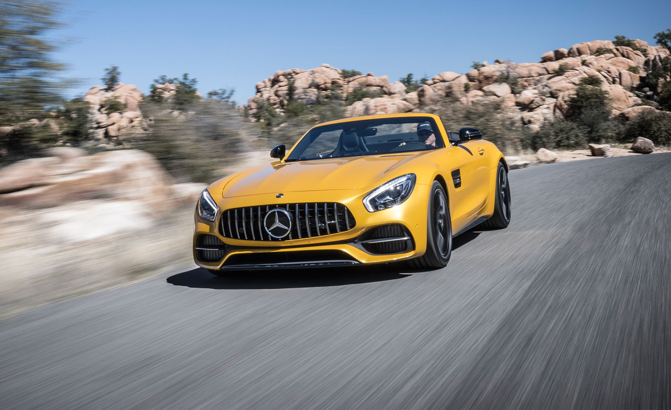 2018 Mercedes Amg Gt Roadster Gt C Roadster Drive Review Car And Driver