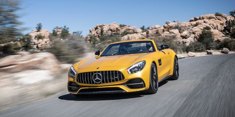 2018 Mercedes Amg Gt Roadster Gt C Roadster Drive Review Car