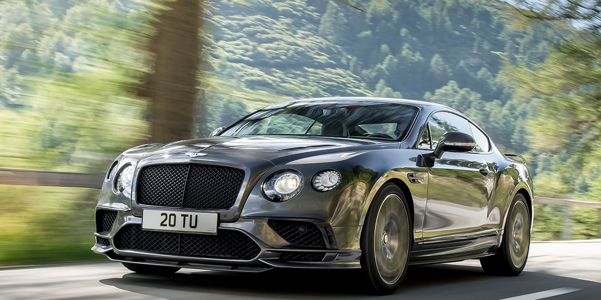 2017 Bentley Continental Supersports Revealed 8211 News Car And Driver