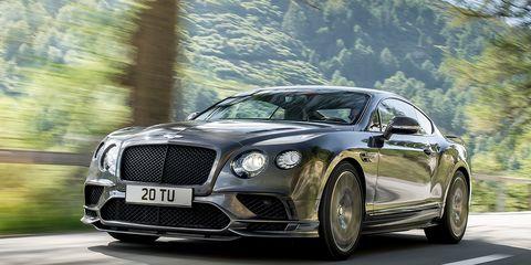 2017 Bentley Continental Supersports The Superlative
