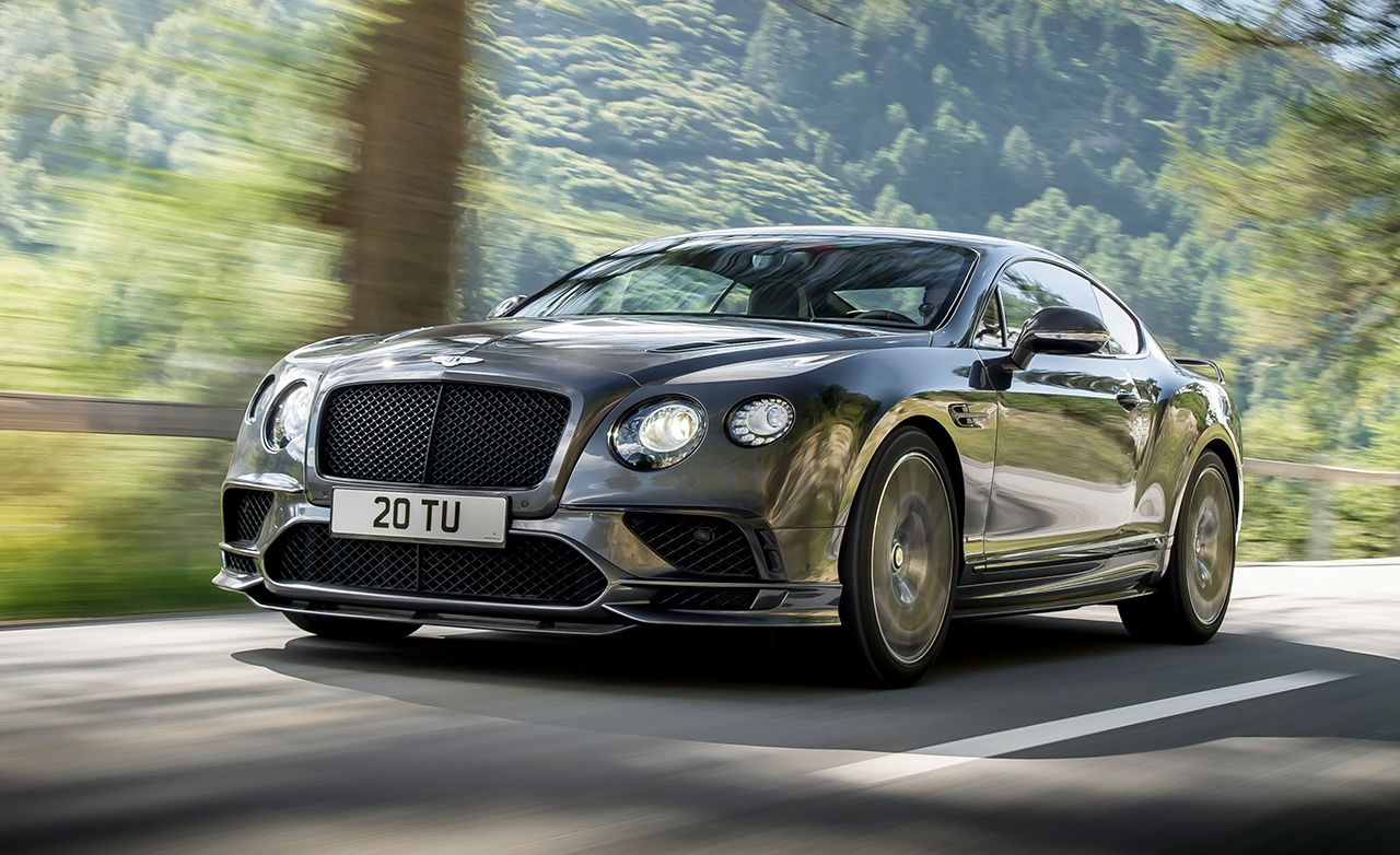 2017 Bentley Continental Supersports Revealed 8211 News 8211 Car And Driver