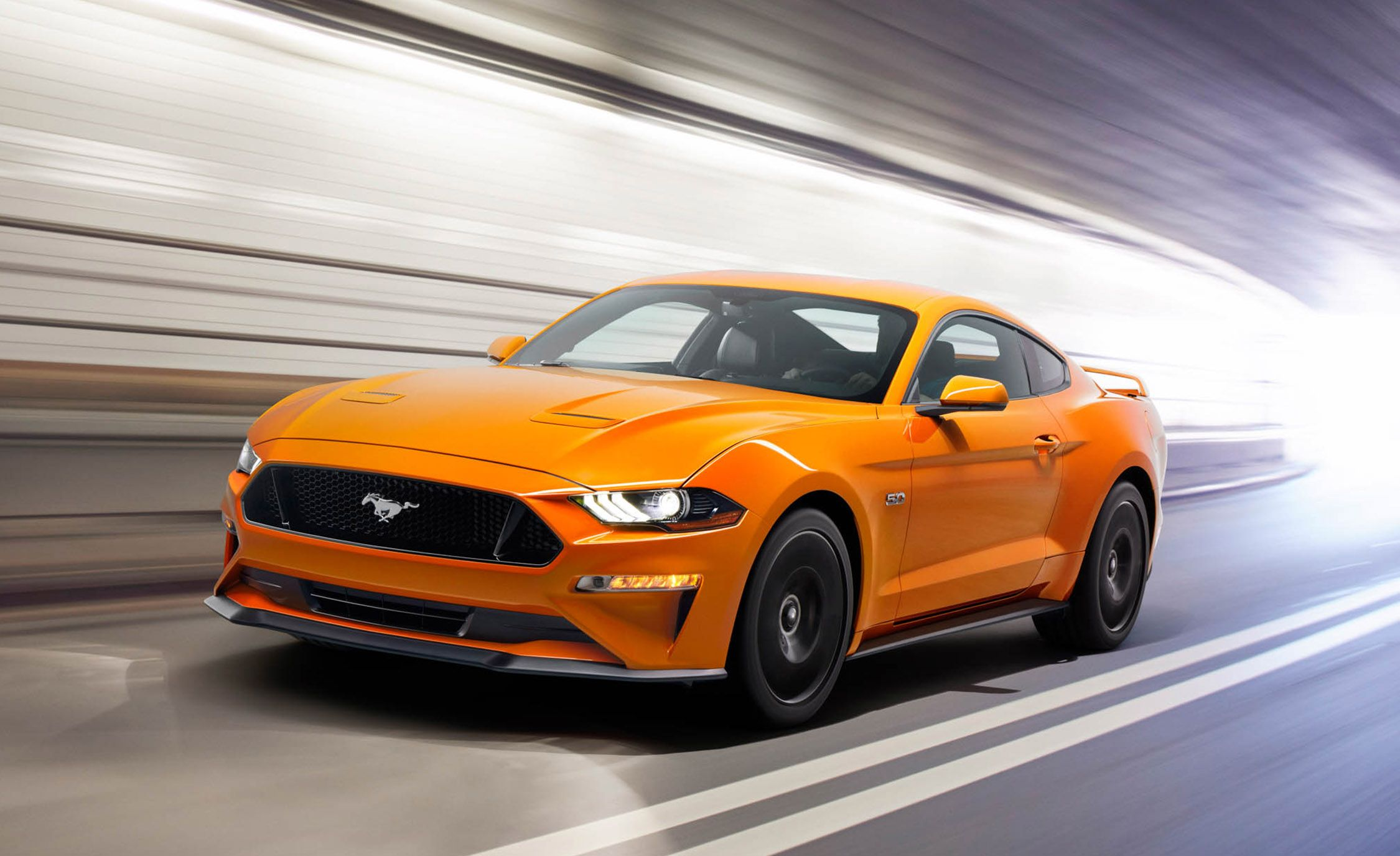 2018 ford mustang drops v 6 gains new tech