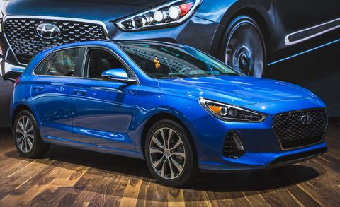 2018 Hyundai Elantra Gt Hatchback Photos And Info 8211