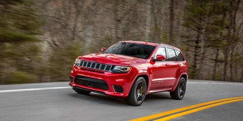 2018 Jeep Grand Cherokee Trackhawk Official Photos and Info