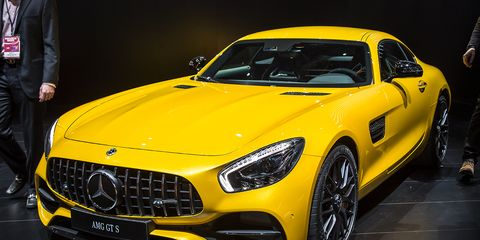 2018 Mercedes Amg Gt C Coupe Debuts