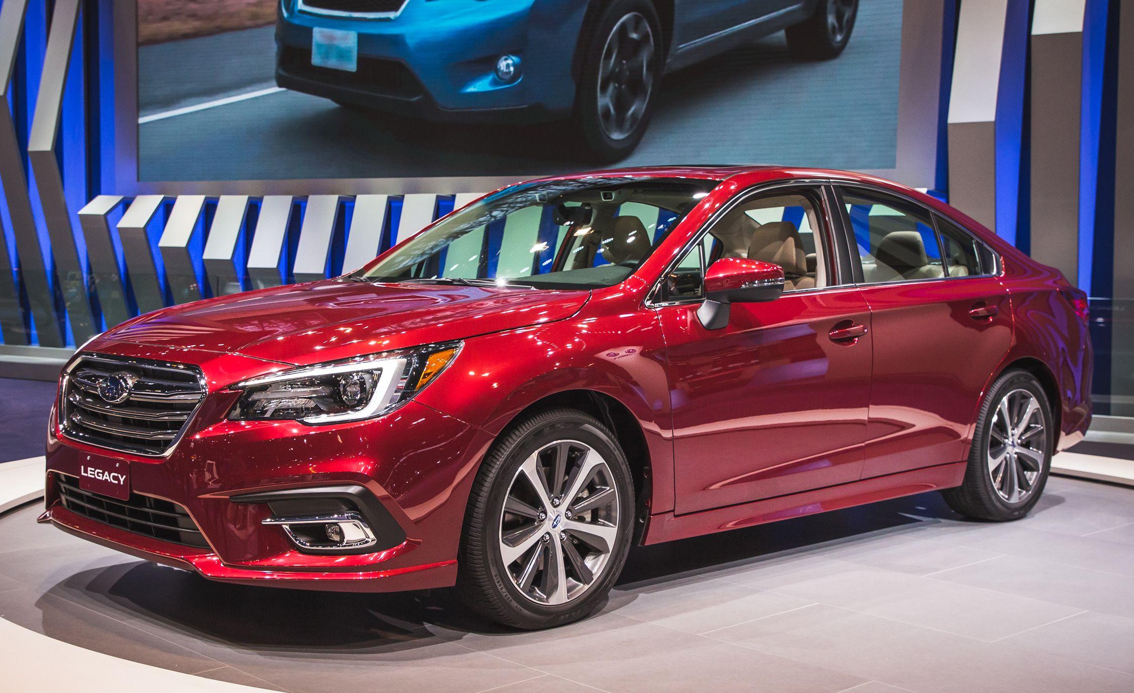2018 Subaru Legacy Sedan Debuts With Subtle Updates