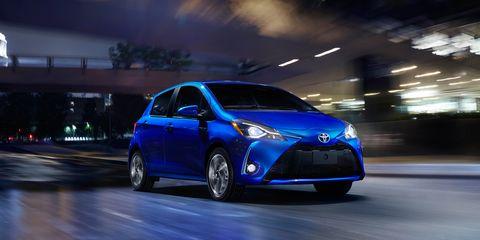 Land vehicle, Vehicle, Car, Automotive design, Hatchback, Automotive exterior, Toyota yaris, Rim, Hot hatch, Toyota,