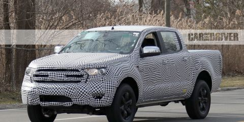 2019 Ford Ranger Spied In The U S