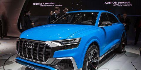Audi Q8 Concept: Specs, Production Version >> Audi Q8 Concept Photos And Info 8211 News 8211 Car And