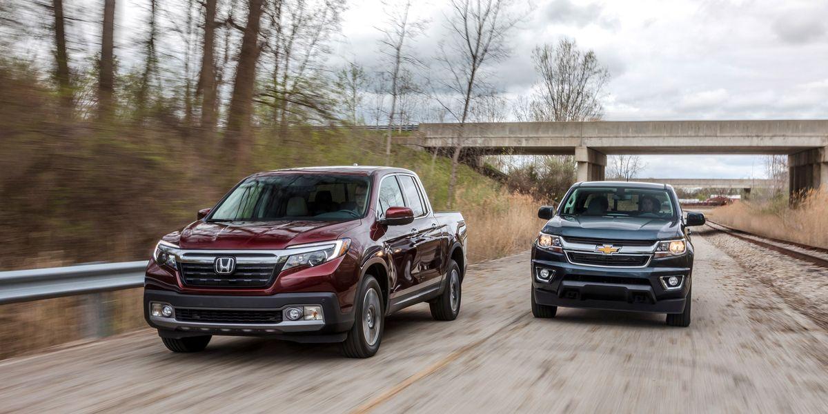 2017 Chevrolet Colorado 4WD vs. Honda Ridgeline AWD ...