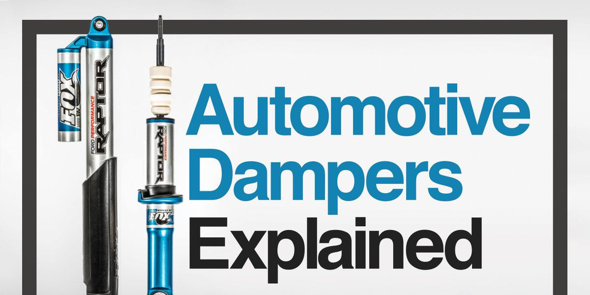 Automotive Dampers Explained: How 6 Common Types Work | Feature