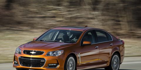 2017 Chevrolet SS Manual Instrumented Test   Review   Car