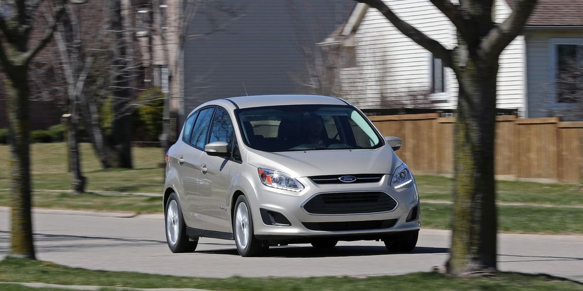 2017 Ford C Max Hybrid Test Review