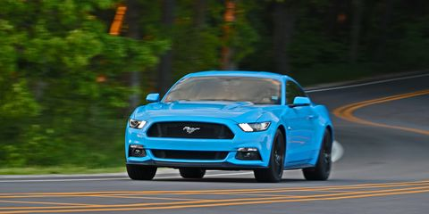 2017 Ford Mustang Coupe And Convertible Review Car