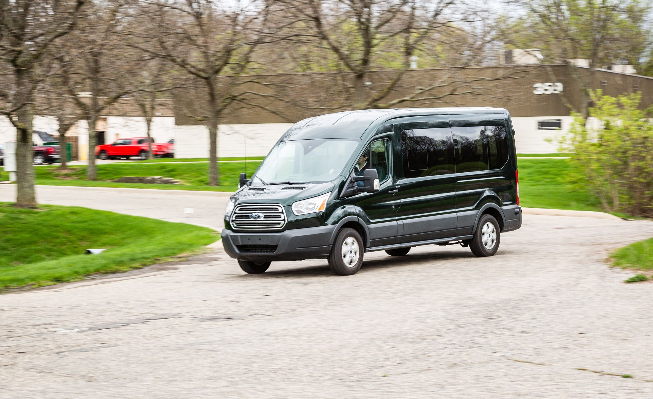 2017 Ford Transit 350 Penger Wagon Ecoboost V 6 Test Review Car And Driver
