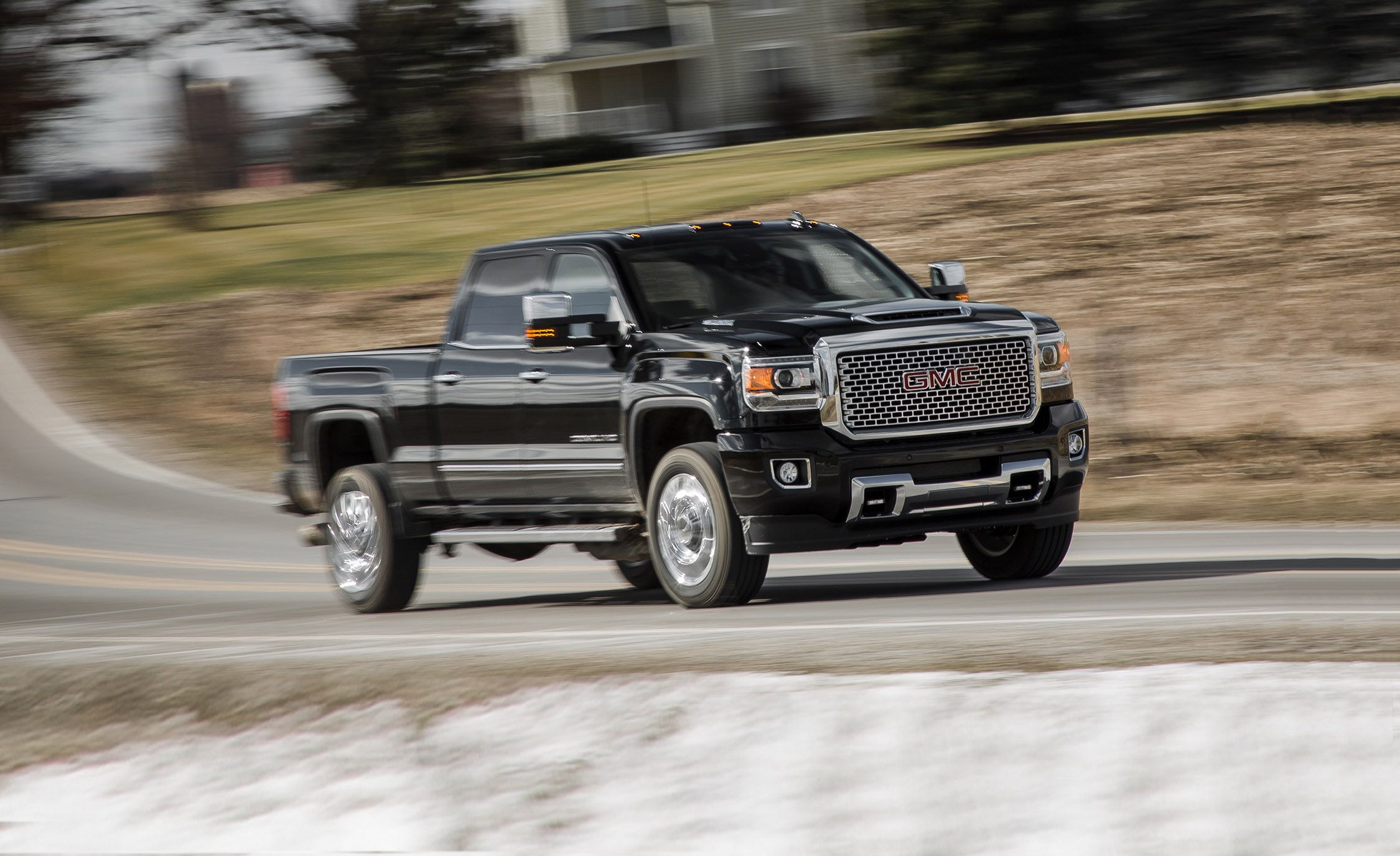 2017 Gmc Sierra 2500hd Sel 4x4 Crew Cab Test Review Car And Driver