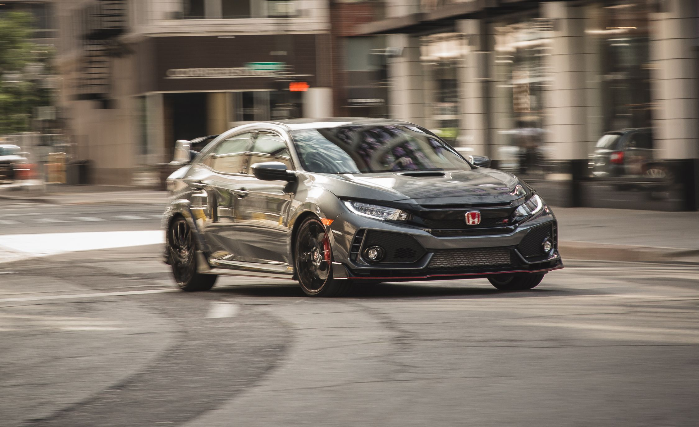 2017 Honda Civic Type R Test Review Car And Driver