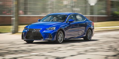 Lexus F Sport >> 2017 Lexus Is350 F Sport Rwd Test Review Car And Driver