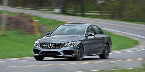 Mercedes C43 Amg >> 2017 Mercedes Amg C43 Sedan Test Review Car And Driver