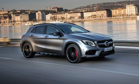 Just As The Compact Cla250 Sedan And Gla250 Crossover Serve Entry Points Into Mercedes Benz Lineup Hotted Up Cla45 4matic Gla45 Are