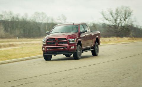 2017 Ram 2500HD 6 4L Gasoline V-8 4x4 Test | Review | Car