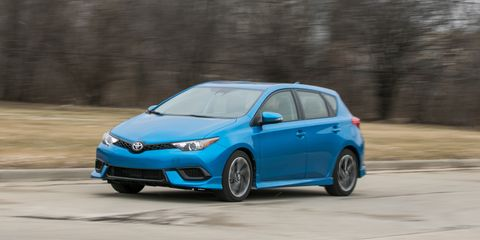2017 Toyota Corolla Im Automatic Test Review Car And Driver