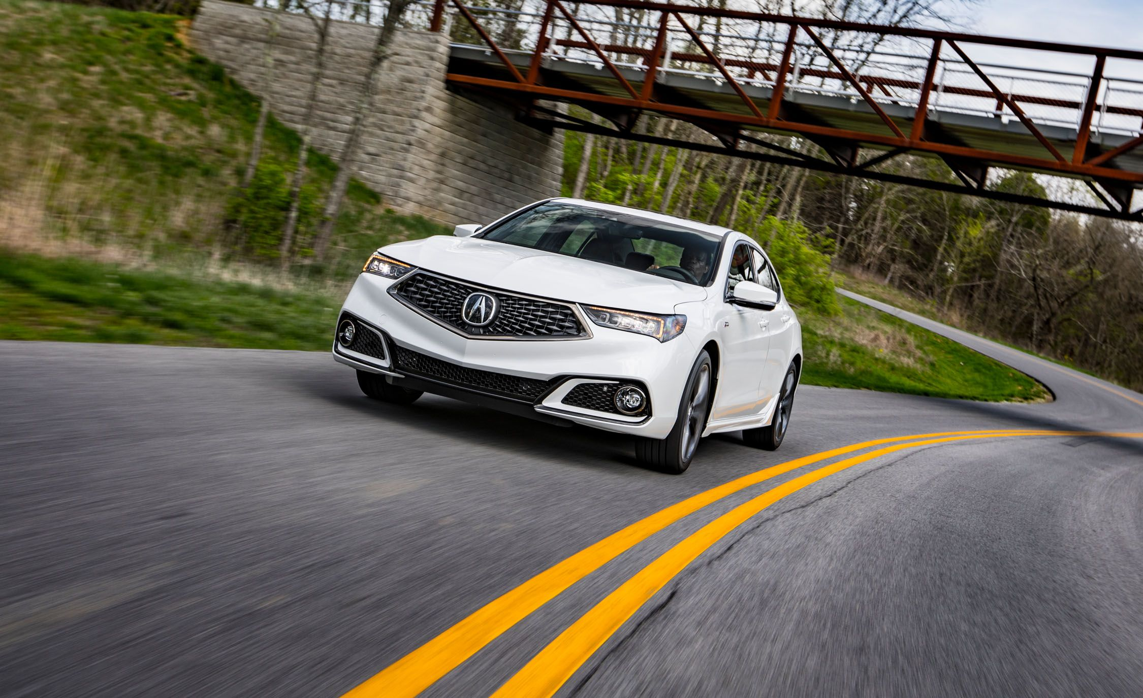2018 Acura Tlx First Drive Review Car And Driver