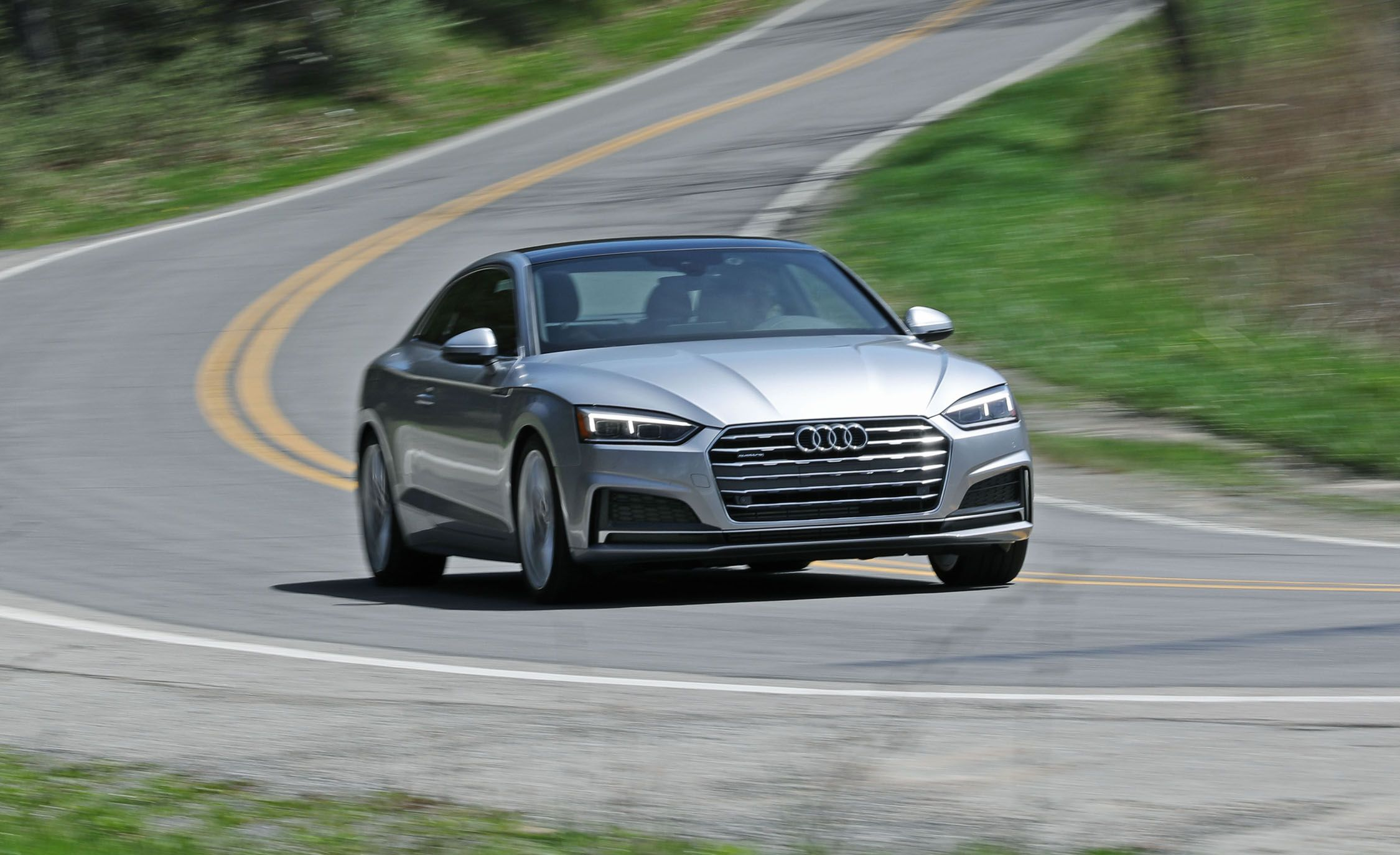 2018 Audi A5 20t Coupe Automatic Test Review Car And Driver