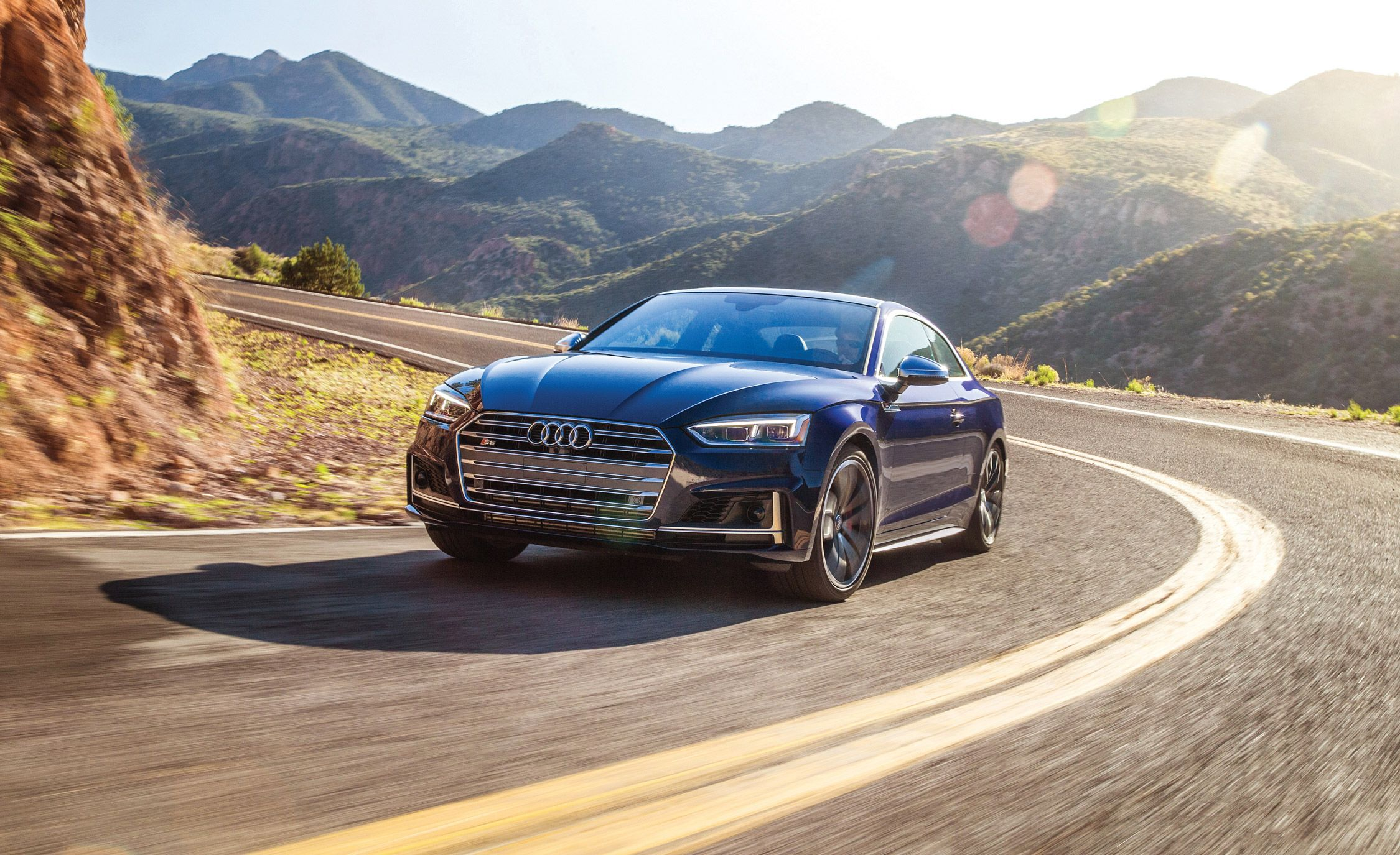 2018 Audi S5 Coupe Full Test Review Car And Driver