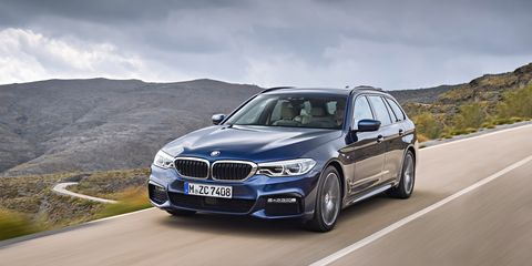 2ab173899faf54 2018 BMW 5-series Wagon Euro-Spec First Drive