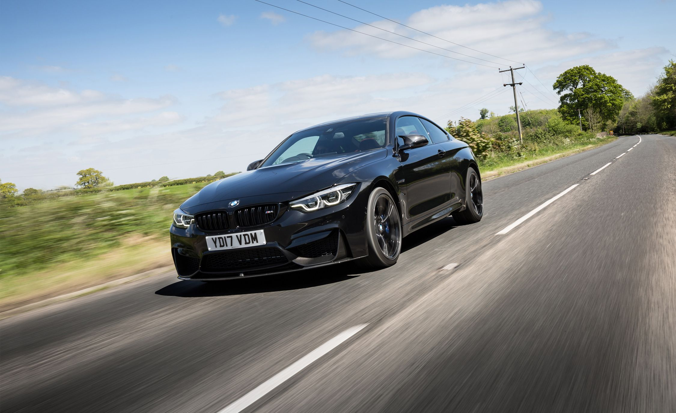 2018 Bmw M4 Driven Lights And Liveliness