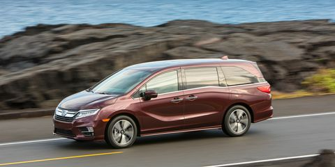 2017 Honda Odyssey Configurations >> 2018 Honda Odyssey First Drive Review Car And Driver