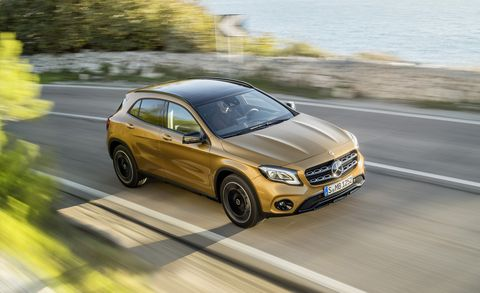 2018 Mercedes-Benz GLA: Refreshed, Changes, Price >> 2018 Mercedes Benz Gla Class First Drive Review Car And