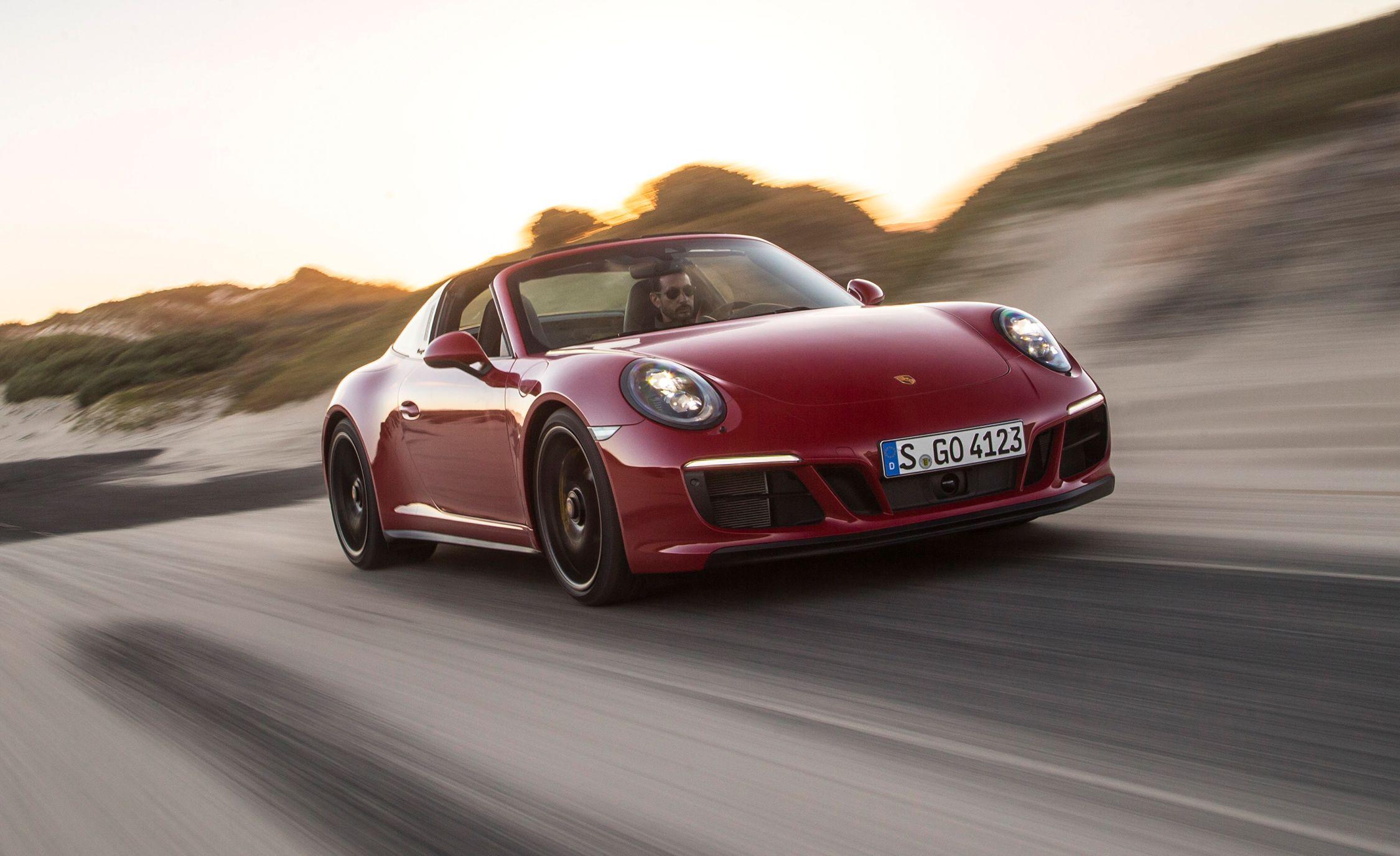 2018 Porsche 911 Targa 4 Gts First Drive Review Car And Driver