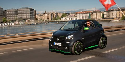2018 Smart Fortwo Electric Drive Cabriolet First