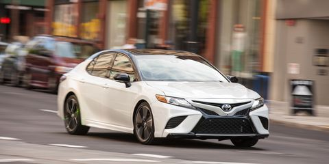 Camry Gas Mileage >> 2018 Toyota Camry First Drive Review Car And Driver