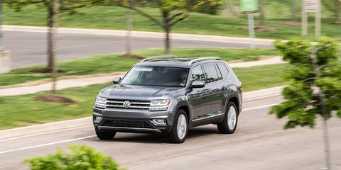 2018 Volkswagen Atlas V-6 4MOTION Test | Review | Car and Driver