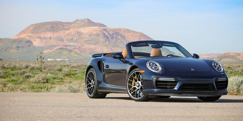 2017 Porsche 911 Turbo S Cabriolet Test Review Car And