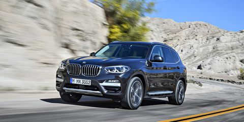 2020 BMW X3: Changes, Equipment, Price >> 2018 Bmw X3 Official Photos And Info News Car And Driver