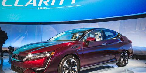 2018 Honda Clarity Electric And Plug In Hybrid Elec Trifecta