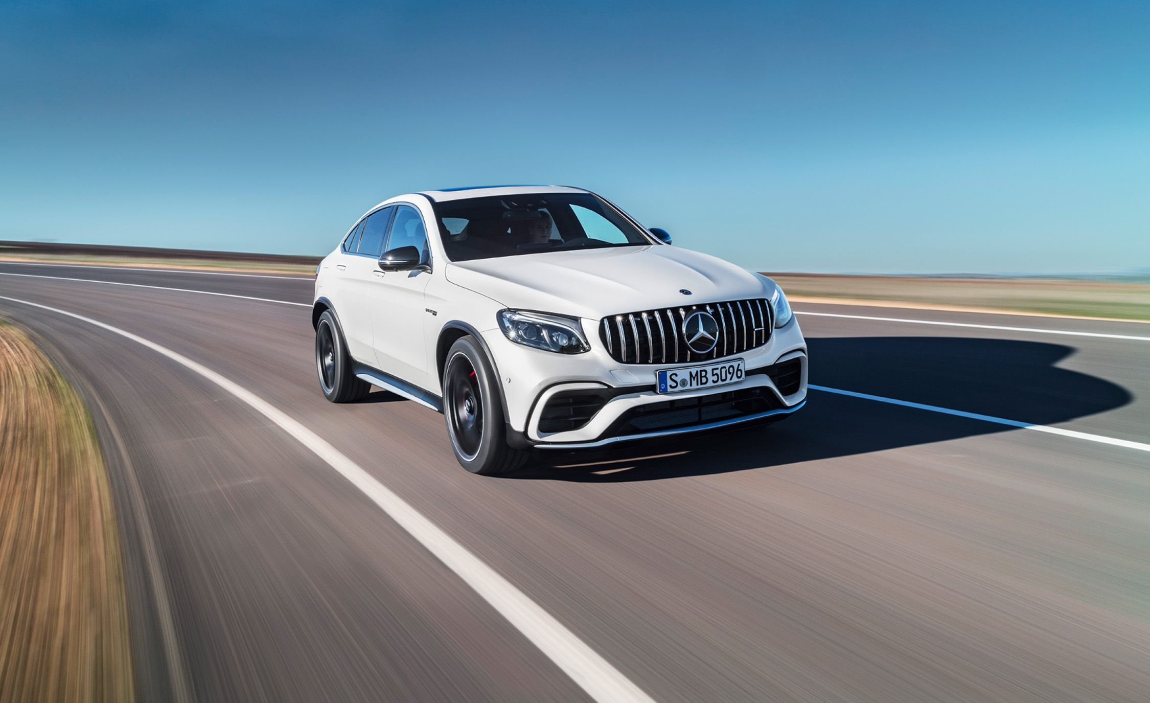 2018 Mercedes Amg Glc63 Coupe Photos And Info News Car And Driver