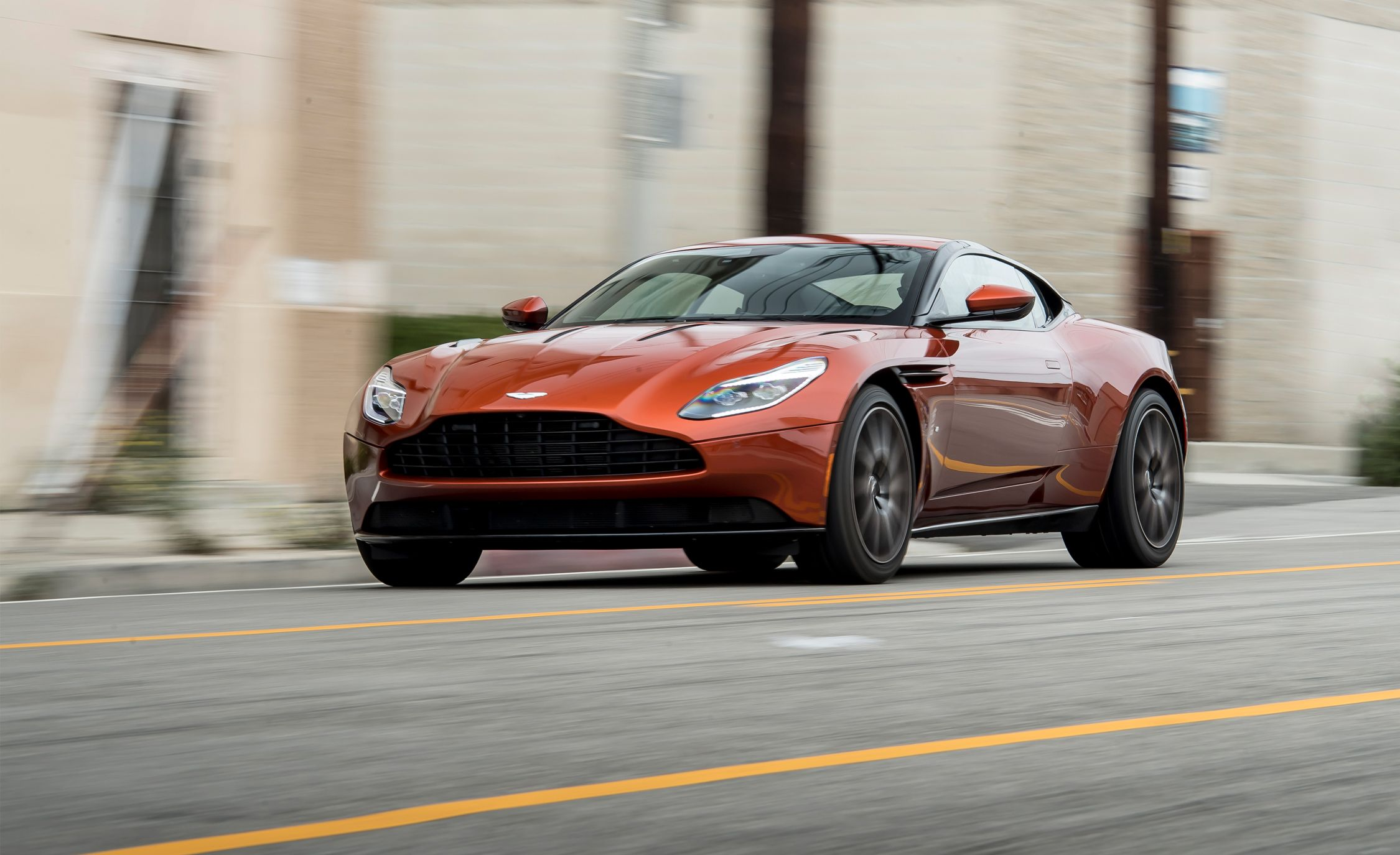 2017 Aston Martin Db11 Tested The New Classic