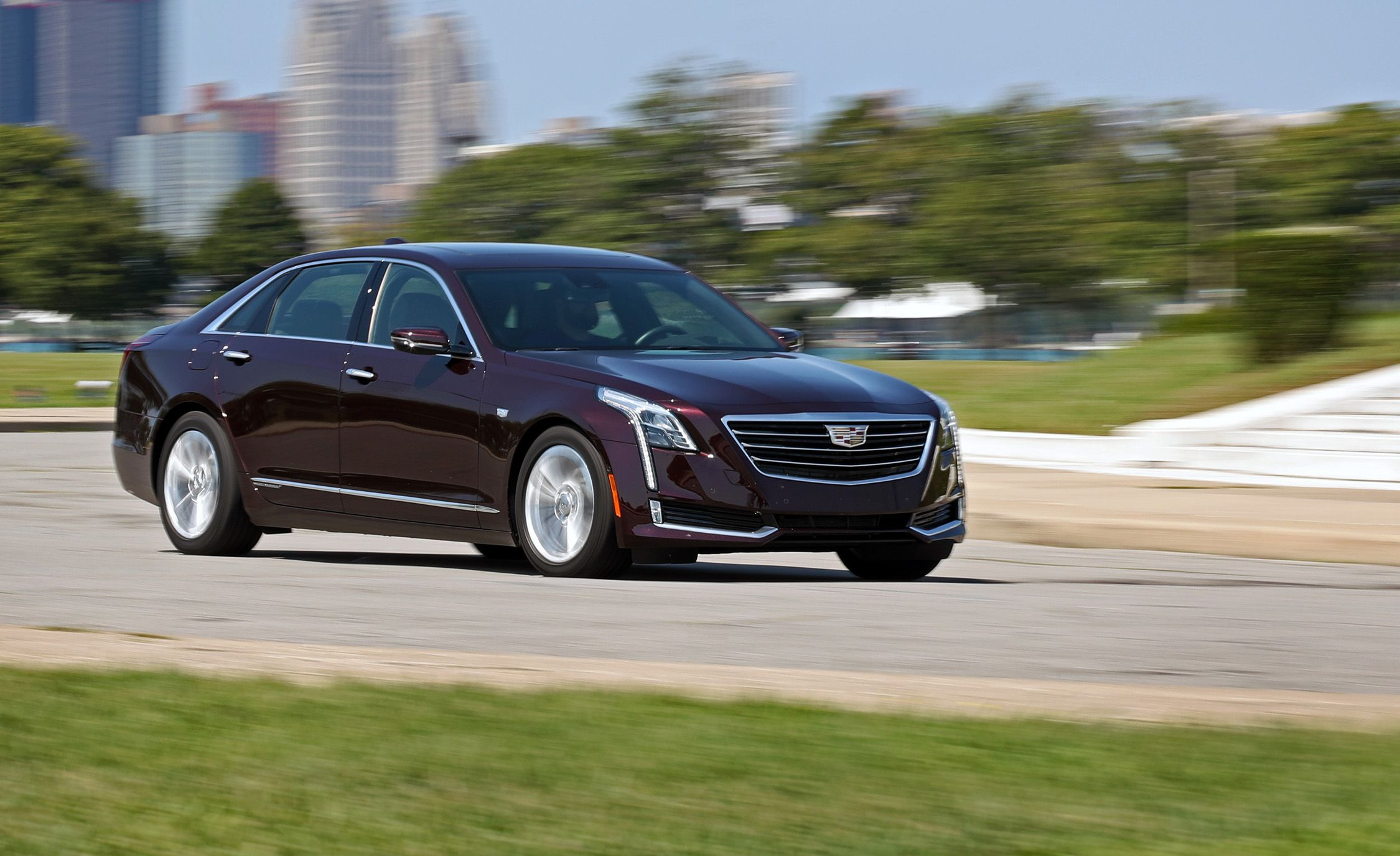 2017 Cadillac Ct6 Plug In Hybrid Test Review Car And Driver