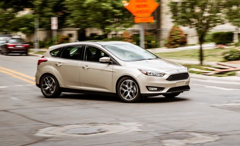 2017 Ford Focus Sedan And Hatchback Review Car And Driver