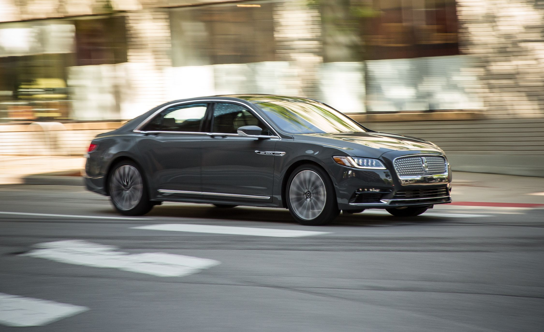 2017 Lincoln Continental 3 0t Awd Black Label Test Review Car And Driver