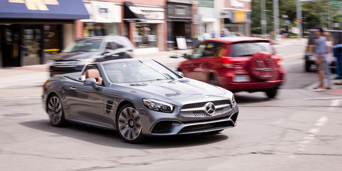 2017 Mercedes-Benz SL450 Test | Review | Car and Driver