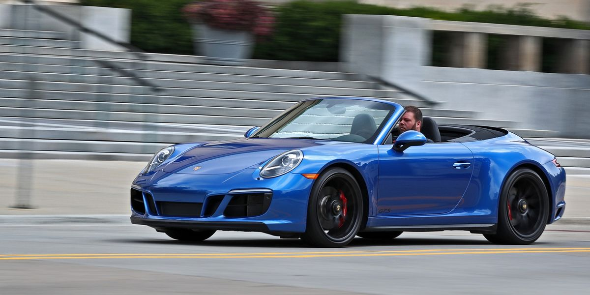 2017 Porsche 911 Carrera Gts Cabriolet Manual Test Review Car And Driver