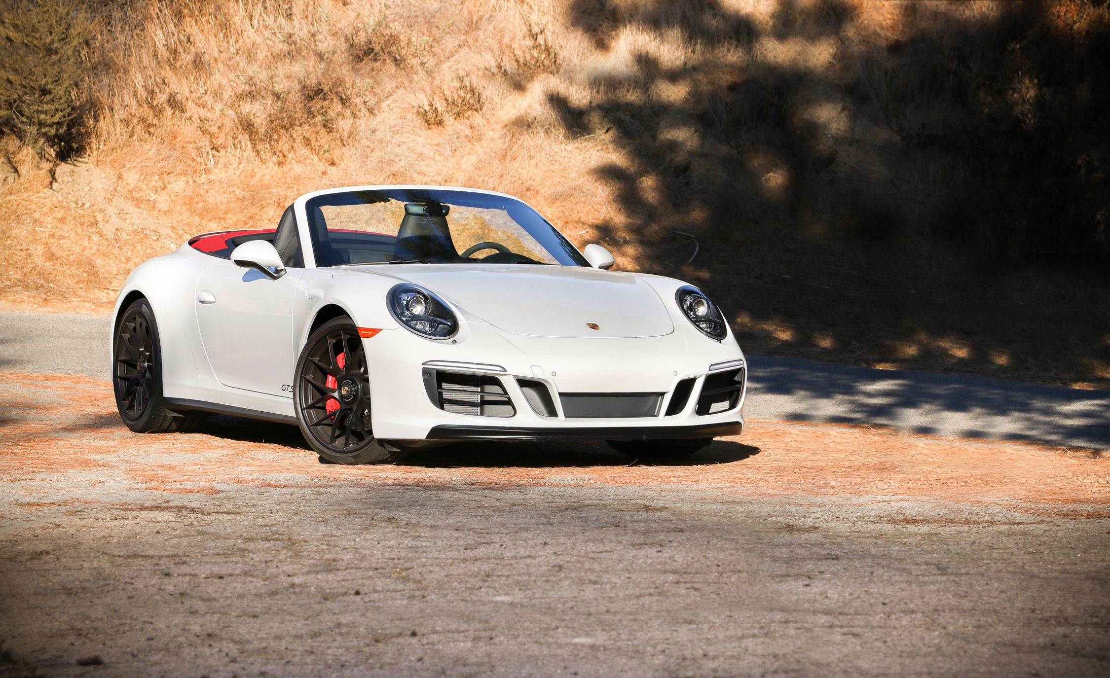2017 Porsche 911 Carrera Gts Cabriolet Pdk Automatic Test Review Car And Driver