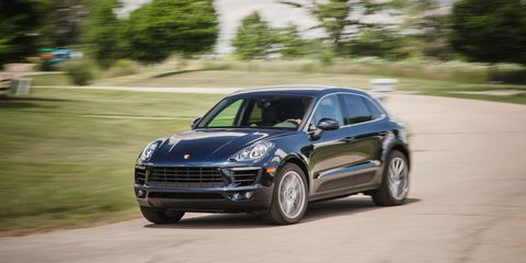 2017 Porsche Macan S Test Review Car And Driver