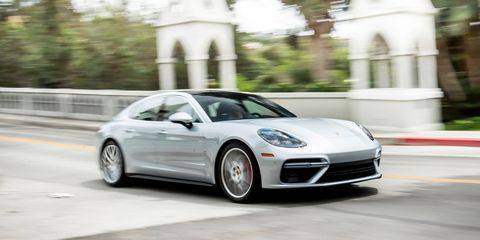 2017 Porsche Panamera Turbo Test Review Car And Driver
